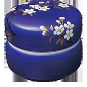 ミニ骨壺『瑠璃磁さくら』